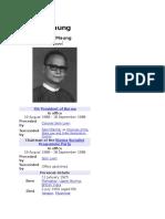 Dr. Maung Maung