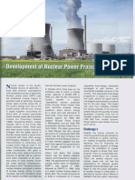 Development of Nuclear Power Projects in India Ieema Journal November 2016