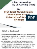Improving Profitability SME 16-12-2015