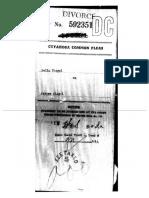 Bella Lifshitz Jerry Siegel Divorce Papers