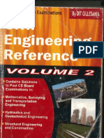 Civil Engineering Reference - Volume 2 By DIT Gillesania