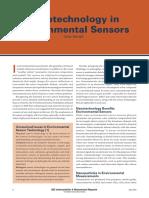 IEEE Instrumentation & Harnett, C. -- Nanotechnology in Environmental Sensors