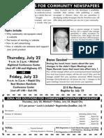 SDNA Web Solutions Seminar