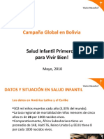 Campaña Global de Salud en Bolivia