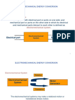 Electromagnetic Energy Conversion Lecture Notes