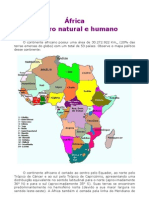 Geografia - Aula 21 - África - Quadro natural e humano