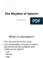 The Rhythm of Speech_Intonation