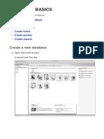 1 Database Basics