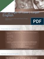Language of Law (1)