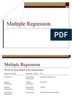 Lecture 8 Multiple Regression