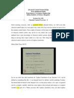 Lec2_Classical Control Overview I