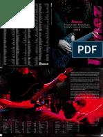Ibanez Katalog E 2010
