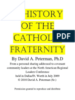 A History of the Catholic FraterniTy