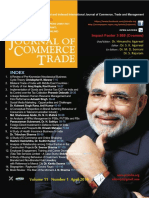 Journal of Commerce and Trade April 2016