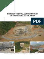 Simplicio Hydroelectric Project on the Paraiba Do Sul River (1)