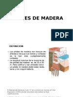 Pilotes de Madera