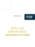 Role of Agri Ppt