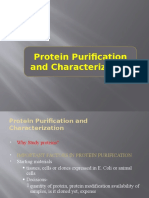 Protein Purification and Characterization