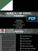 13486221 Basics of Stock Market