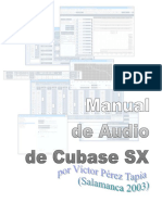 Cubase SX Audio manual