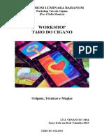 Workshop Taro Do Cigano