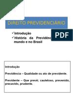 1029832_Direito Previdenciário - Introdução