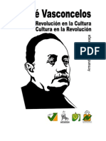 Vasconcelos Revolucion en la cultura