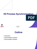 Slides - Lec Chapter 5 - Process Synchronization