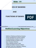 Slide 1 - Definition and Functions of Banking