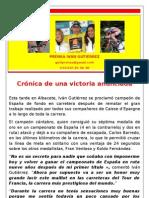 Nota de Prensa Iván Gutiérrez (27 de junio de 2010)