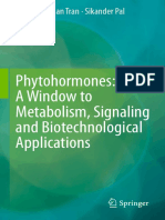 Phytohormones- A Window to Metabolism, Signaling and Biotechnological Application