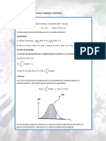 Funcion de Distribucion de Variable Continua