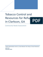 clarkston tobacco report final