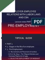 3 Pre Employment PDF