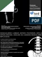 Desequilibrio Lumbar Antero Posterios Hipo e Hiperlordosis.