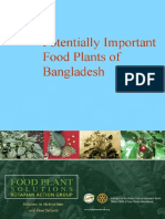 Potentially Important Food Plants of Bangladesh