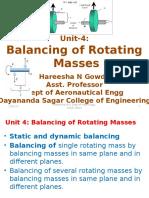 Unit 4 Balancingofrotatingmasses 131127012048 Phpapp01