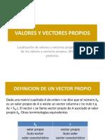 VectoresVlorPropio