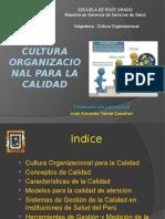 4.Cultura Organizacional Para La Calidad DOCENTE