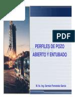 REGISTROS DE EVALUACIÓN DE CEMENTACIÓN  M. Sc. Ing. Germán Fernández García