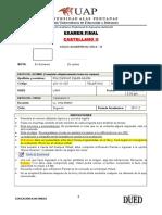Examen Final Castellano II