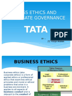 Business Ethics of Tata