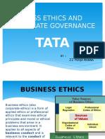 Business Ethics of Tata