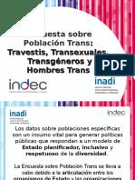Presentación Encuesta Trans 1811