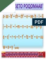 alfabeto poqomam