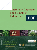 Potentially Important Food Plants of Indonesia