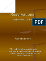 Reservations and Declarations