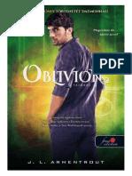 J. L. Armentrout - Luxen 2.5 - Obvilion - Feledés 2. (1)