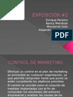 control de marketing
