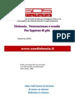 Stella Dislessia Neuroscienze e Scuola Per Saperne Di Piu